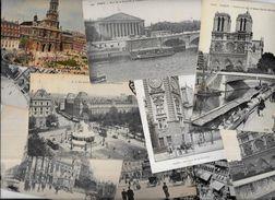 Lot 1039 De 10 CPA Paris Divers Déstockage Pour Revendeurs Ou Collectionneurs - Cartoline