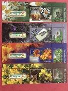 Romania 2015 Medicinal Plants Medicine Plant Flowers Flower Flora Nature Health Living Food Drinks Tea Strip Stamps MNH - Drinks