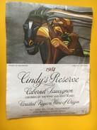 5840 -  Cindy's Collection 1984 Cabernet Sauvignon Afrique Du Sud  Flight Of Ndongeni Artiste L.Matsoso - Art
