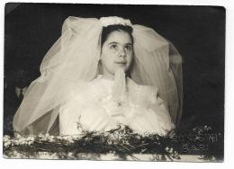 FOTO PRIMA COMUNIONE - STUDIORAMOSINI BARI - FORMATO CM.14,5X10,5 - Anonyme Personen