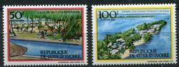 COTE D'IVOIRE N°701C/D** TOURISME EN COTE D'IVOIRE - Ivory Coast (1960-...)