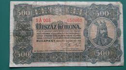 Otszaz Korona 500, 1923 , Budapest, 5a003 - Ungarn