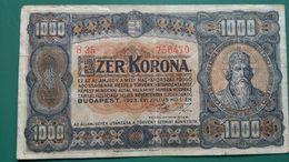 Ezer Korona 1000, B35, 1923 Budapest - Ungarn