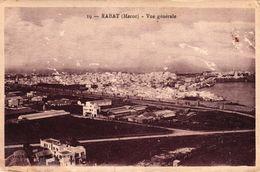MAROC - RABAT - VUE GENERALE - Rabat