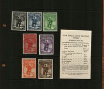 GB – 1933 - 20th PHILATELIC CONGRESS - SOUVENIR STAMPS - MNH - 1902-1951 (Kings)