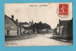 28 Eure Et Loire Civry Rue Principale  (format 9x14 ) Petites Taches Voir Scans - Other Municipalities