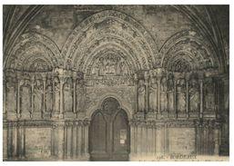 (4566) Old Card - Carte Ancienne - France - Bordeanx Eglise St Seurin - Kirchen U. Kathedralen