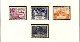 MALAYA - PERAK - UPU 1949  #101 - 104  MNH - Perak