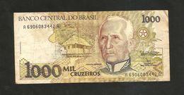 BRAZIL - BANCO CENTRAL Do BRASIL - 1000 CRUZEIROS (1990) - Brasile