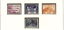 MALAYA - SINGAPORE - UPU 1949  #23 - 25  MNH - Singapur (...-1959)