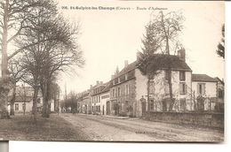 St - Sulpice - Les - Champs  - Route D'Aubusson - France