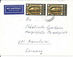 Greece Cover Sent Air Mail To Germany 1964 ?? - Greece