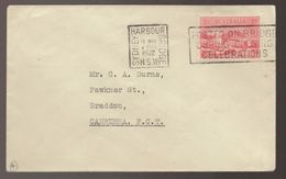 1932 Australia Posted On Sydney Harbour Bridge 2d Red Cover - Primo Giorno D'emissione (FDC)