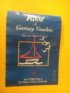 5845 -  Rosé De Gamay Vaudois 1997 Suisse - Bateaux à Voile & Voiliers