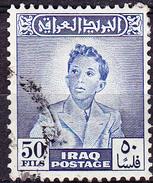 Irak - König Faisal II. (MiNr: 142) 1948 - Gest Used Obl - Iraq