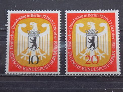 Série 2 Timbres Neuf Allemagne Berlin 1955 : Session Du Bundestag à Berlin - [5] Berlin