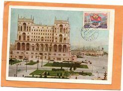Baku Azerbaijan 1958 Postcard - Azerbaïjan
