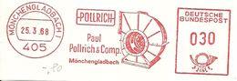 Germany Nice Cut Meter Pollrich Munchengladbach 25/3/1968 - Fabrieken En Industrieën