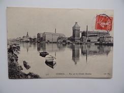 91 CORBEIL ESSONNES GRANDS MOULINS Barque Péniche Canal Navigation Battelerie Marinier Ecluse Bief - Essonnes
