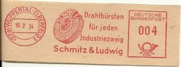 Germany Nice Cut Meter Drahlbursten Fur Jeder Industriezweig, Schmitz & Ludwig, Wupperthal-Elberfeld 15/2/1954 - Fabrieken En Industrieën