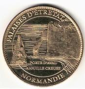 Medaille Arthus Bertrand 76.Etretat - Les Falaises 2007 - Arthus Bertrand