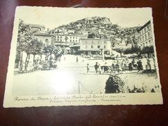 B672  Rocca Di Papa Piazza Regina Margherita Viaggiata Presenza Pieghine Angoli - Italia