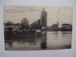CORBEIL ESSONNES MOULIN Magasin  Seine Péniche Canal Navigation Battelerie Marinier 237è Régiment Infanterie Territorial - Essonnes