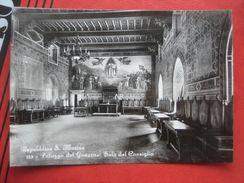 San Marino - Palazzo Del Gaverno: Sala Del Consiglio - San Marino