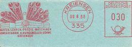 Germany Nice Cut Meter Burgmuller Machinen, TUBE, PIPE, Kreiensen 9/8/1968 - Fabrieken En Industrieën