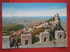 San Marino - Le Antice Mura E Panorama - San Marino