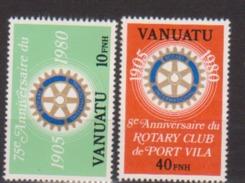 VANUATU    N° YVERT  :      609/610      NEUF SANS CHARNIERE - Vanuatu (1980-...)
