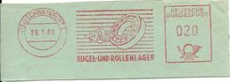 Germany Nice Cut Meter Kugel- Und Rollenlager, Schweinfurt 29/1/1960 - Fabrieken En Industrieën