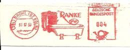 Germany Nice Cut Meter Ranke Sanitair Bath, Bruhl 13/12/1953 - Fabrieken En Industrieën