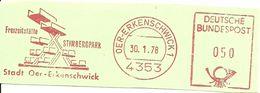 Germany Nice Cut Meter Freizeitstatte Stimberpark Oer-Erkenschwick, 30/1/1978 - Vakantie & Toerisme
