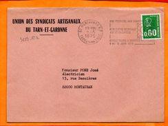 TARN Et GARONNE, Montauban, Flamme SCOTEM N° 3683-82a, ARPHILA 75 Paris, Flamme à Droite - Poststempel (Briefe)