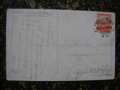 Hungary-Serbia-seal Budapest Bazias-1918  (3837) - 1918-1948 Ferdinand, Carol II. & Mihai I.