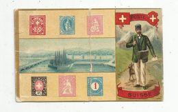 Cp , Timbres (représentation ) ,POSTE SUISSE , Union Postale Universelle , écrite , Ed : JC Paris 1215 - Sellos (representaciones)