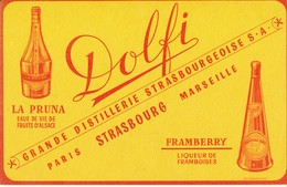 BUVARD -  DOLFI, Distillerie, Strasboug - Liquor & Beer