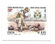 2016 - Italia 3755 Croce Rossa Militare^ - Francobolli