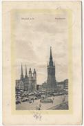 Halle (Saale) Old Postcard Travelled 1912 B171205 - Halle (Saale)