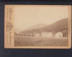 Originalphoto Grosstabarz  Bad Tabarz 1886 - Deutschland