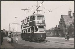 Liverpool Corporation Tramways 'Baby Grand' Tram No 19, 1955 - R B Parr Photograph - Photographs