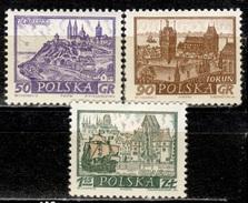 PL+ Polen 1960 1961 Mi 1192 1209 1215 1229 Mnh Städte - Ungebraucht