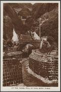 Up The Tanks, Full Of Rain, Aden, C.1930s - Howard RP Postcard - Yemen
