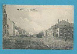 CPA Chemin De Fer Train La Grand'Rue MARBEHAN Hameau De Rulles -- LUXEMBOURG - Other
