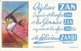 BUVARD - Réglisse ZAN - Buvards, Protège-cahiers Illustrés