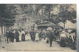LIMOGES LA CLEF Des CHAMPS Kermesse Des 3 Et 4 Juillet 1909 Une Allée Du Champ De Juillet - Limoges