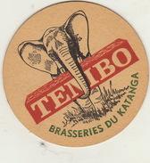 Biere TEMBO Brasserie Du Katanga - Portavasos