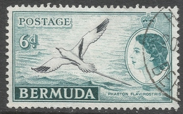 Bermuda. 1953-62 QEII. 6d Used. SG 143 - Bermuda