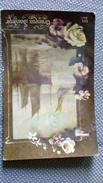 CPA. GRACIEUX SOUVENIR - DIX 862 - ROSES Et VOILIERS EN MER Dans Cadre - écrite 1919 - Fantaisies